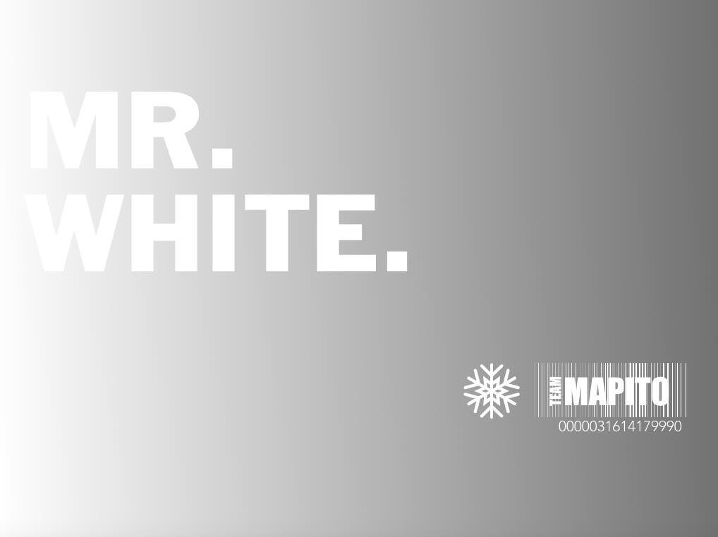 Mr. White TEAM MAPITO
